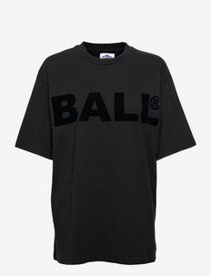 BALL CPH FLOCK TEE - t-shirts à manches courtes - black