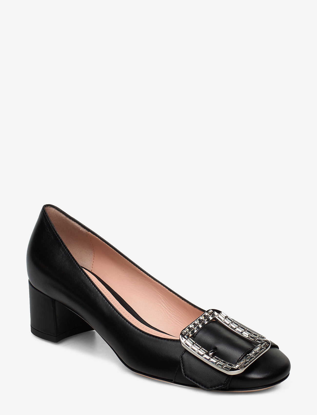 Bally - JACKIE 45-CRYSTAL/00 - heeled shoes - black - 0