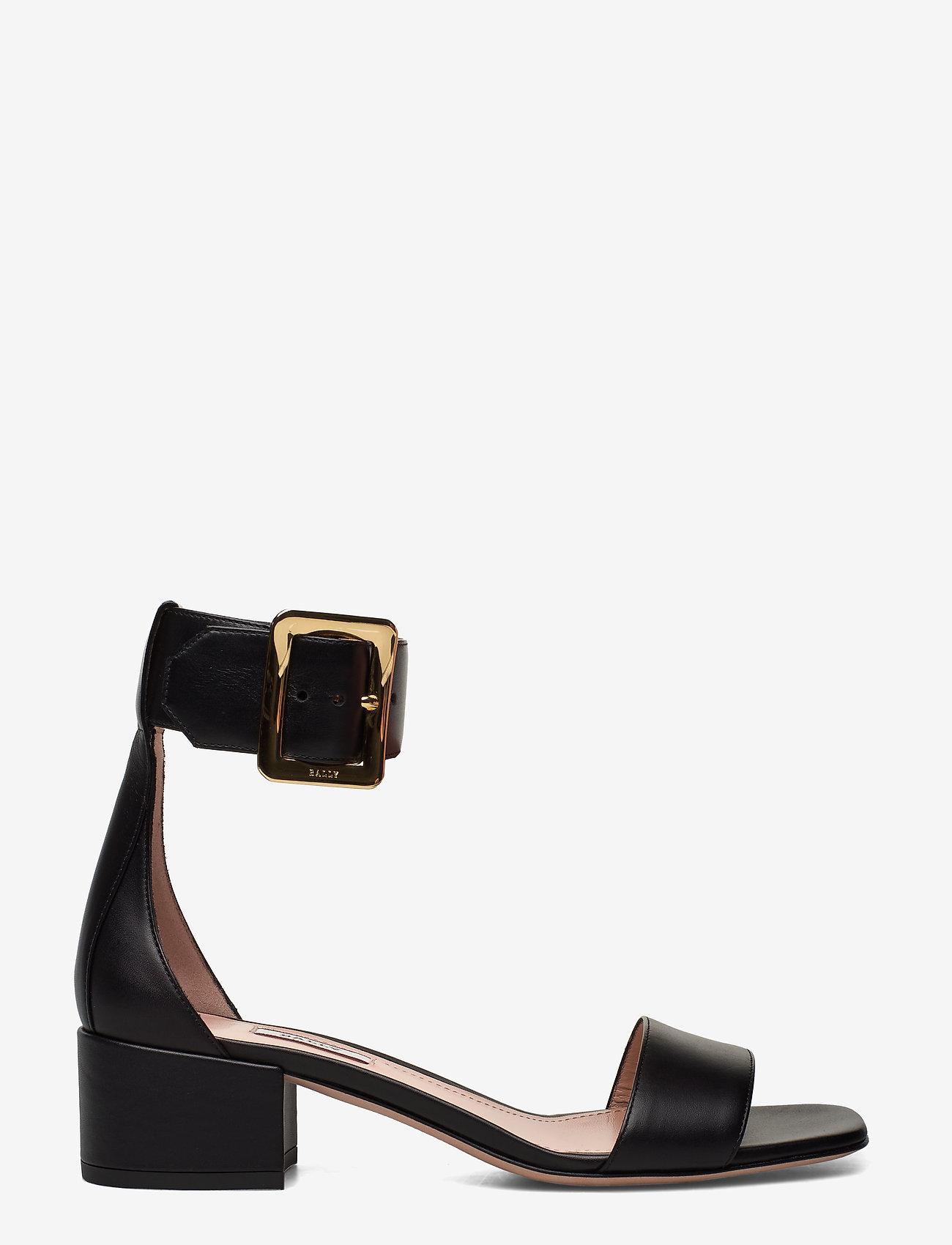 Bally - JANISE 40/00 - høyhælte sandaler - black - 1