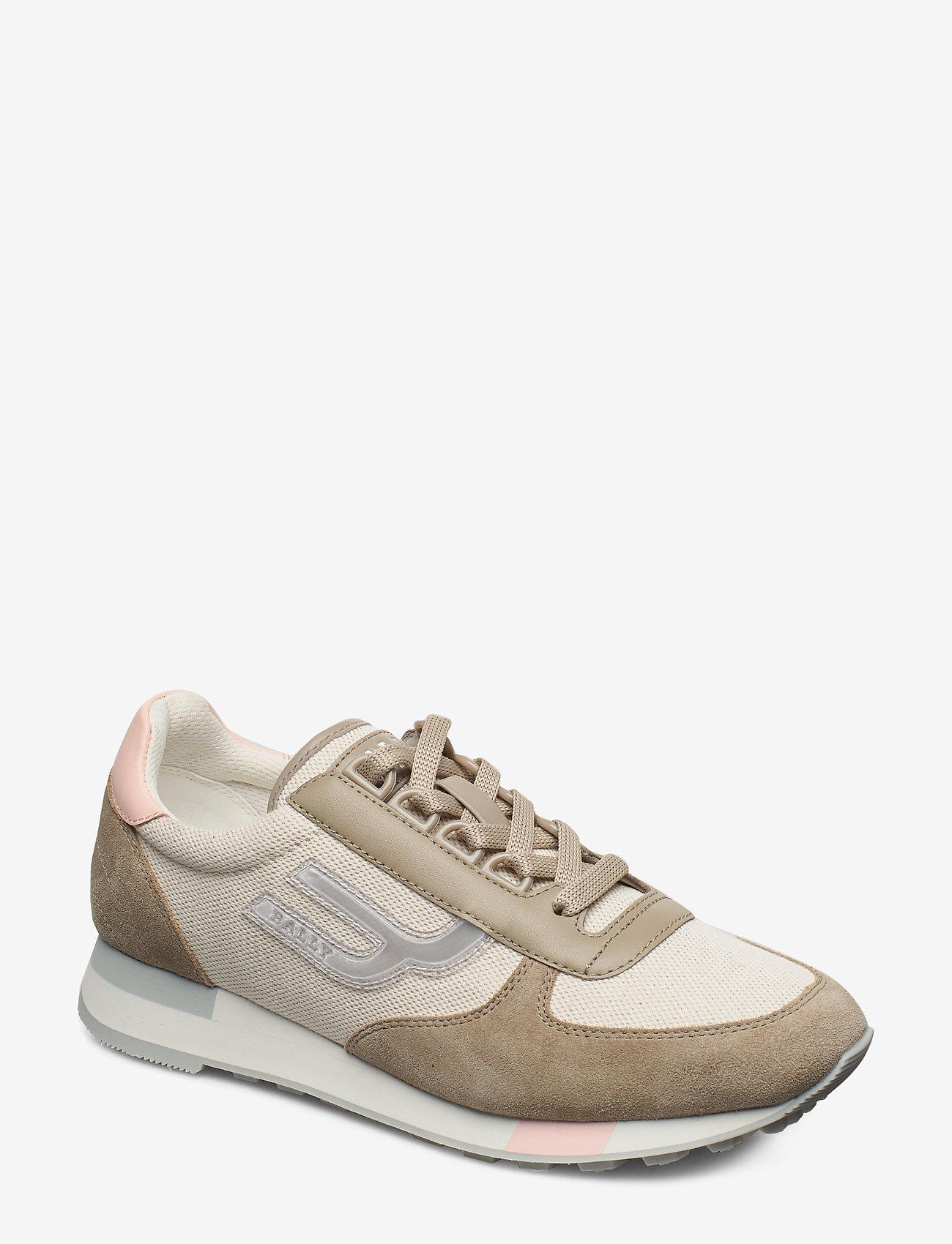 Bally - GAVINIA-T-CANVAS/105 - sneakersy niskie - natural - 0