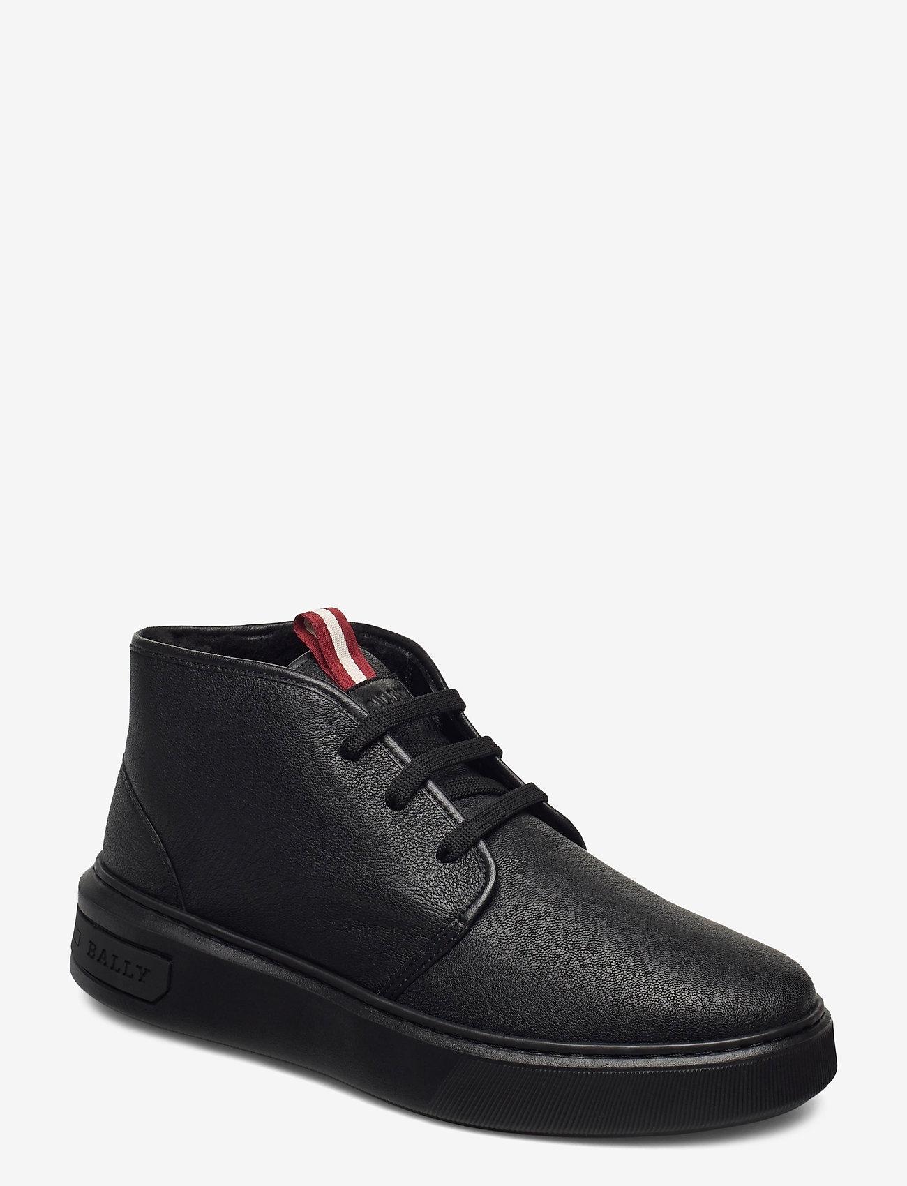 Bally - MATTIS-FUR/00 - desert boots - black - 0