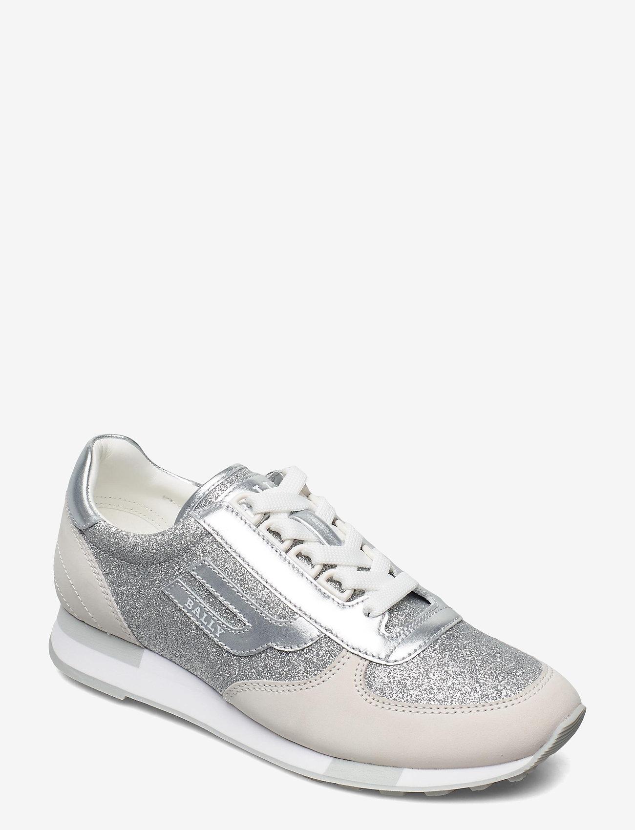 Bally - GAVINIA-T/01 - lage sneakers - 02001 silver 17 - 0