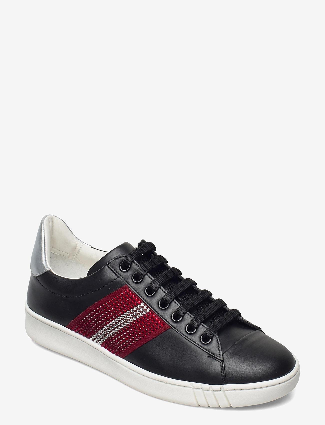 Bally - WIERA-TSP/00 - lage sneakers - blk/tsp ballyre - 0