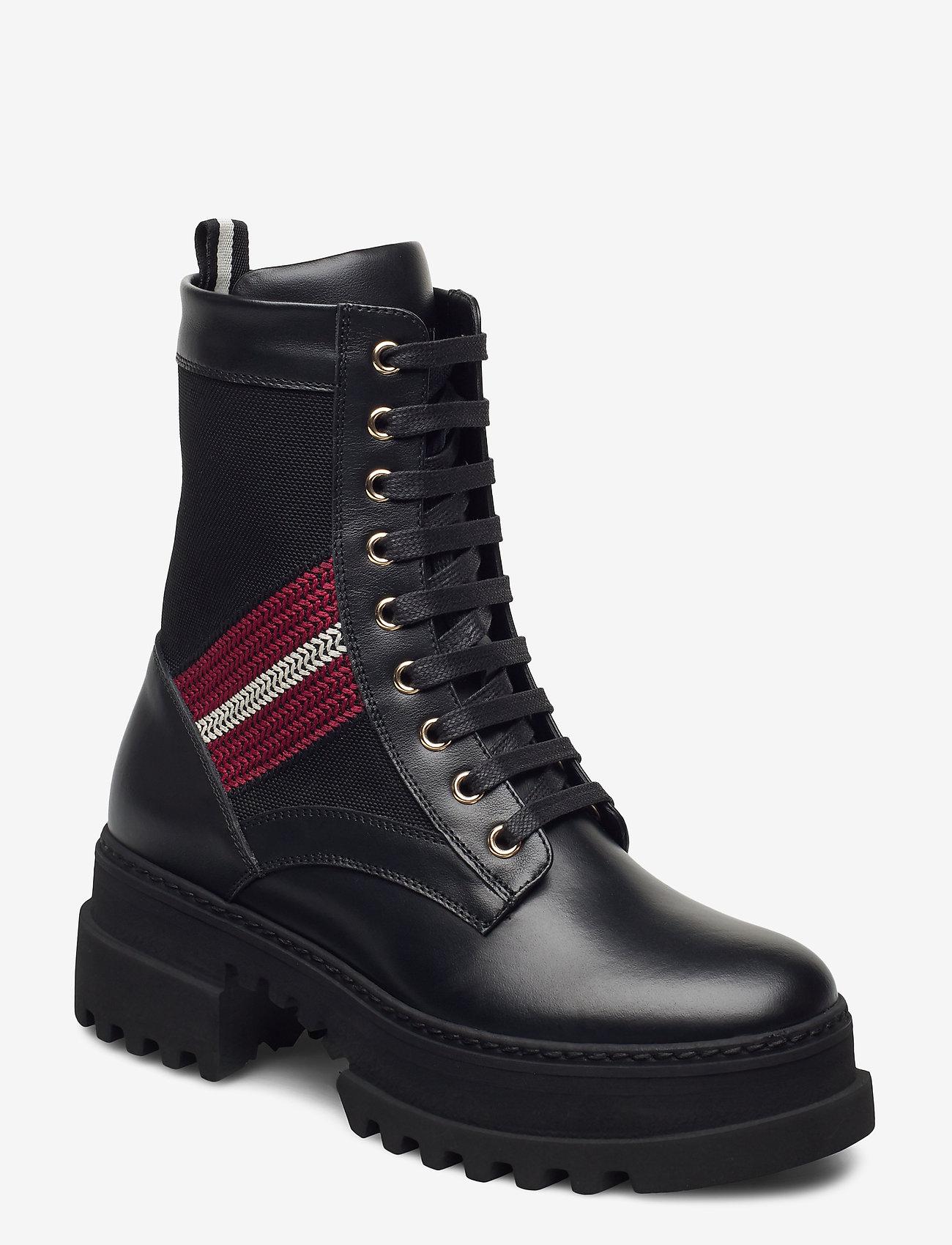 Bally - GIOIS/00 - ankelstøvler med hæl - 0100 black - 0