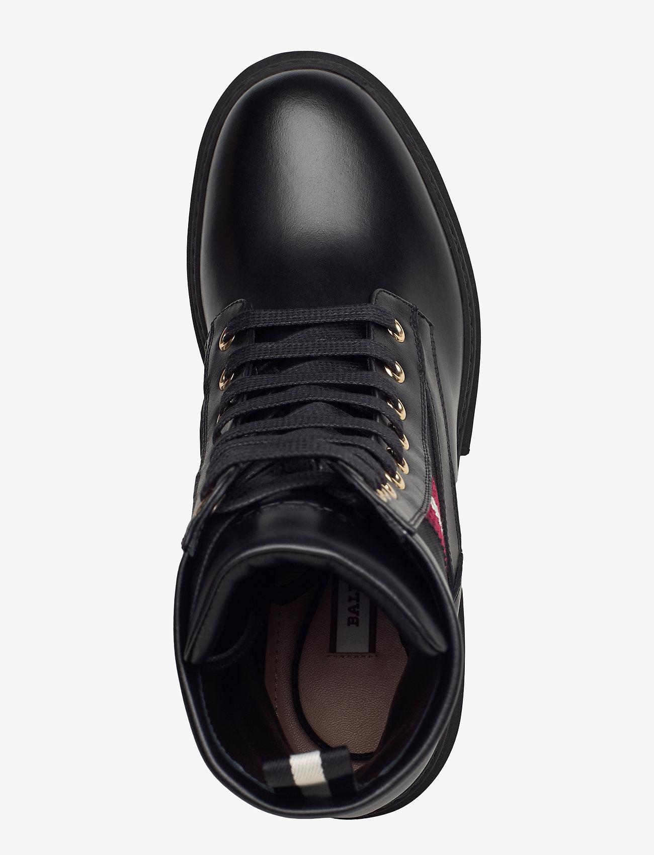 Bally - GIOIS/00 - ankelstøvler med hæl - 0100 black - 3