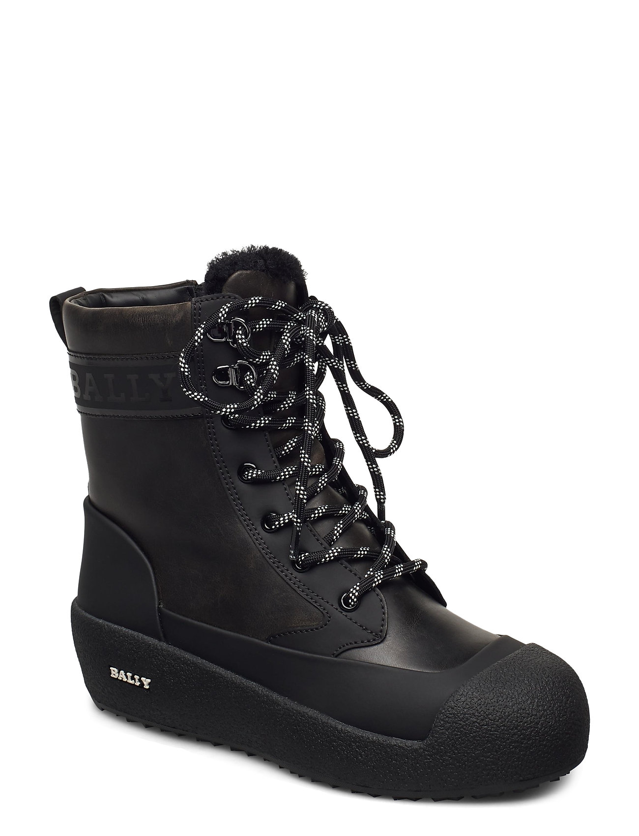 Image of Garbel/59 Shoes Boots Ankle Boots Ankle Boot - Flat Sort Bally (3464914093)