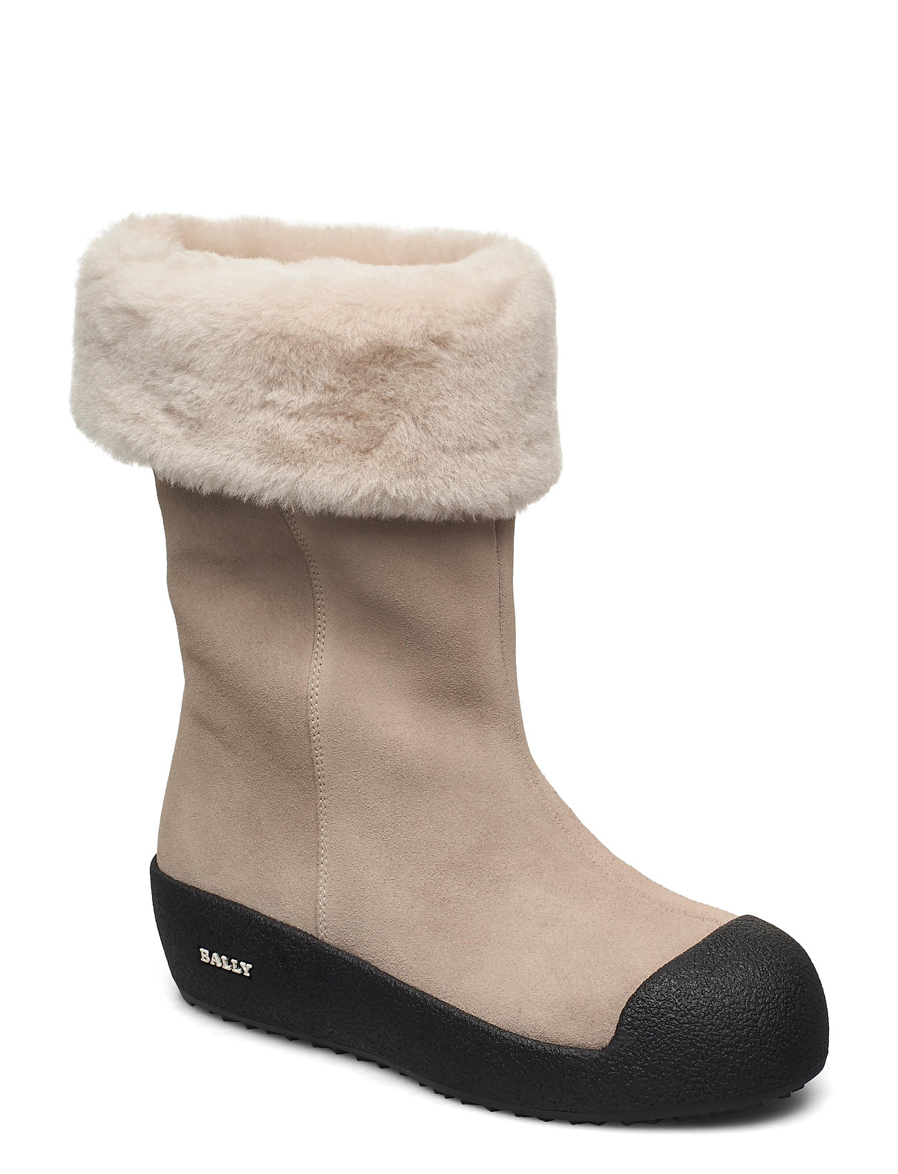 Image of Gavree/24 Shoes Boots Ankle Boots Ankle Boot - Flat Beige Bally (3464914095)