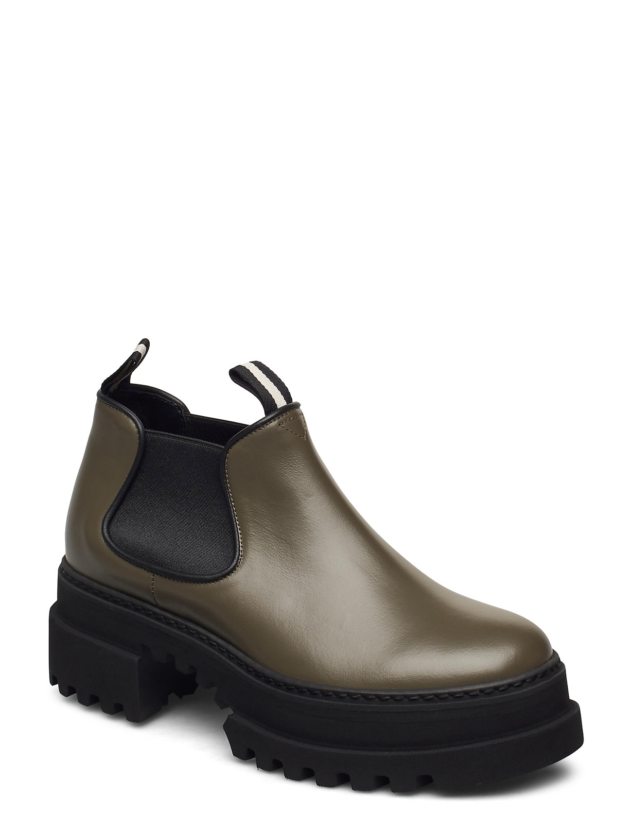 Image of Giordy/21 Shoes Boots Ankle Boots Ankle Boot - Flat Sort Bally (3464914099)