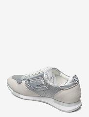 Bally - GAVINIA-T/01 - lage sneakers - 02001 silver 17 - 2