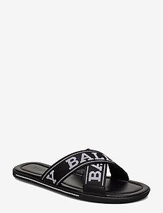 BONKS-T/200 - sandały - black/white