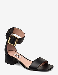 JANISE 40/00 - høyhælte sandaler - black