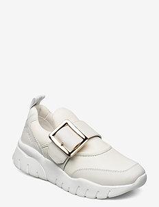 BRINELLE - sneakersy niskie - white