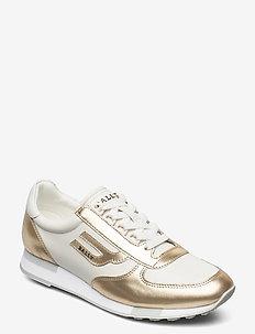 GAVINIA-F/602 - lage sneakers - 0478 platino
