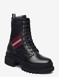 GIOIS/00 - ankelstøvler med hæl - 0100 black