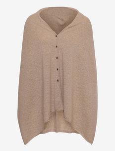 Lausanne cashmere poncho - ponchos & capes - spelt
