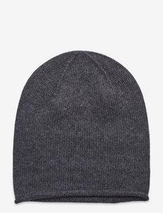 Cortina beanie - czapki i kapelusze - dark grey melange