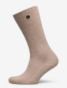 Zermatt cashmere socks - vanliga strumpor - spelt