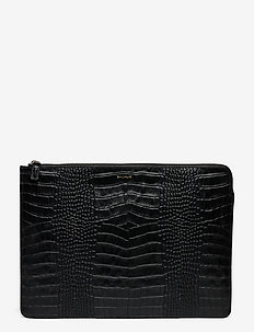 Clara laptop sleeve - computer bags - black