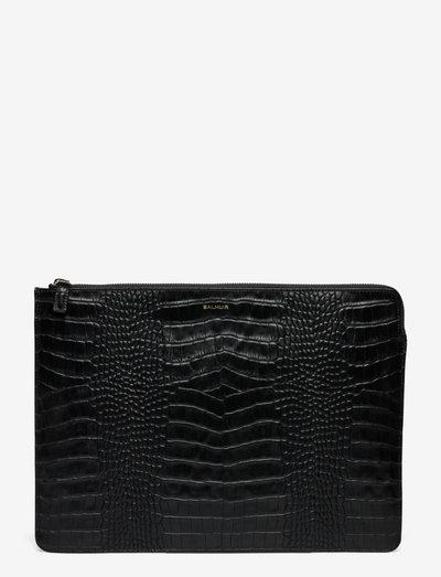 Clara laptop sleeve - väskor - black