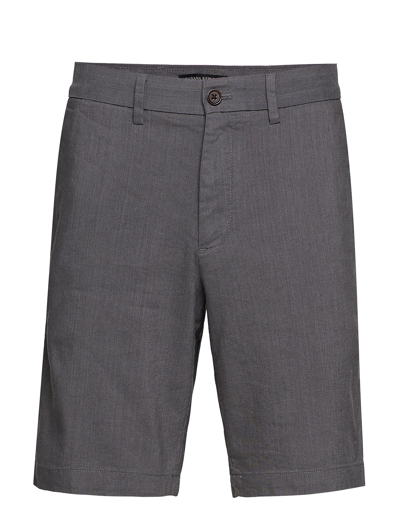"Banana Republic 9"" Slim Linen Blend Short - MESA GREY"