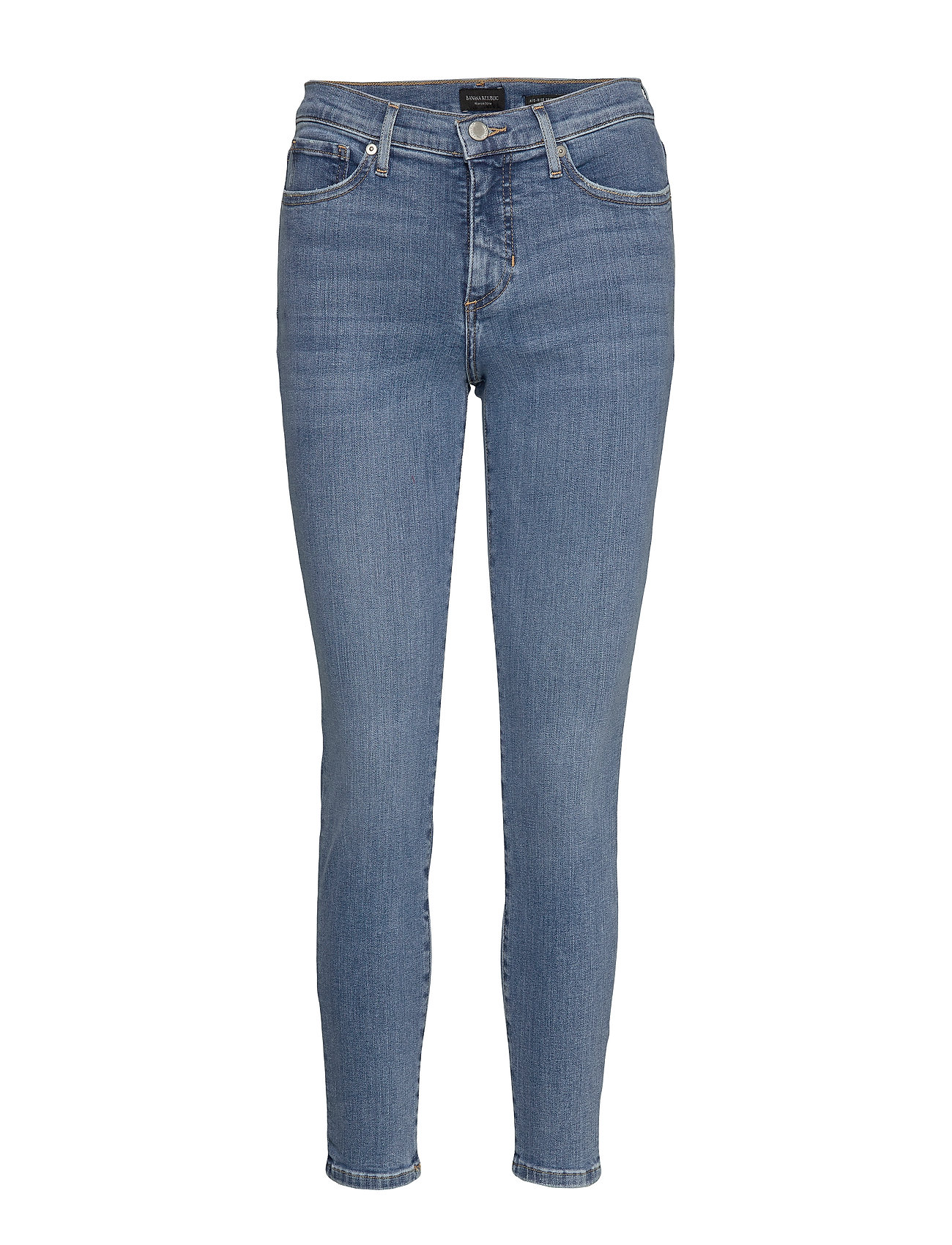 Banana Republic Mid-Rise Skinny Ankle Jean - LIGHT WASH