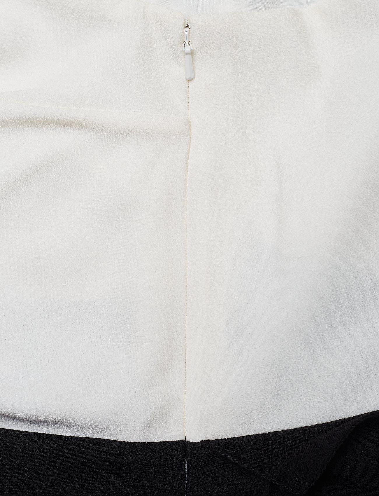 One NoveltyBanana Cropped Jumpsuitblack Shldr White Republic Colorblocked yvYgb7f6