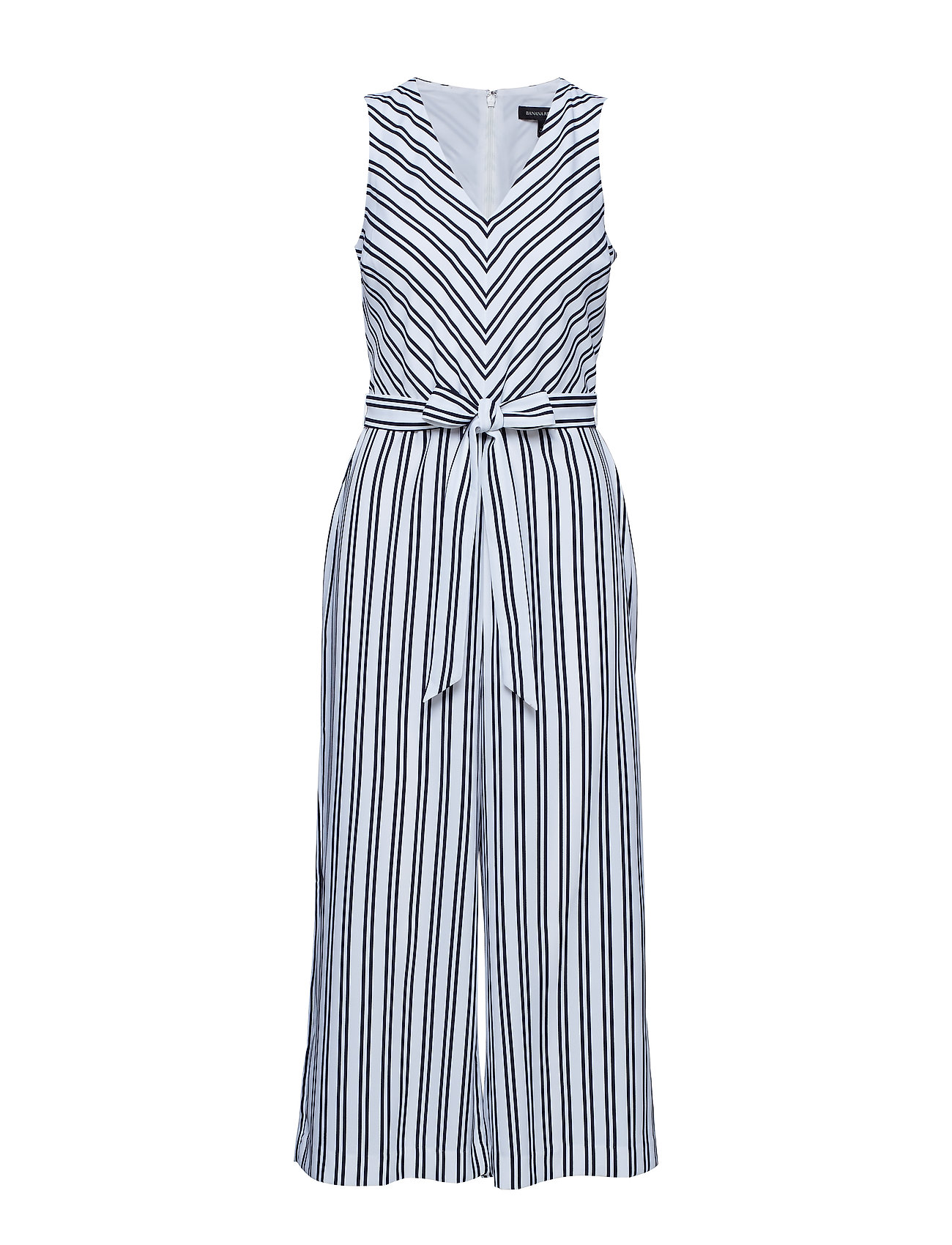 Banana Republic SL CROPPED VNECK JUMPSUIT STRIPE Jumpsuits