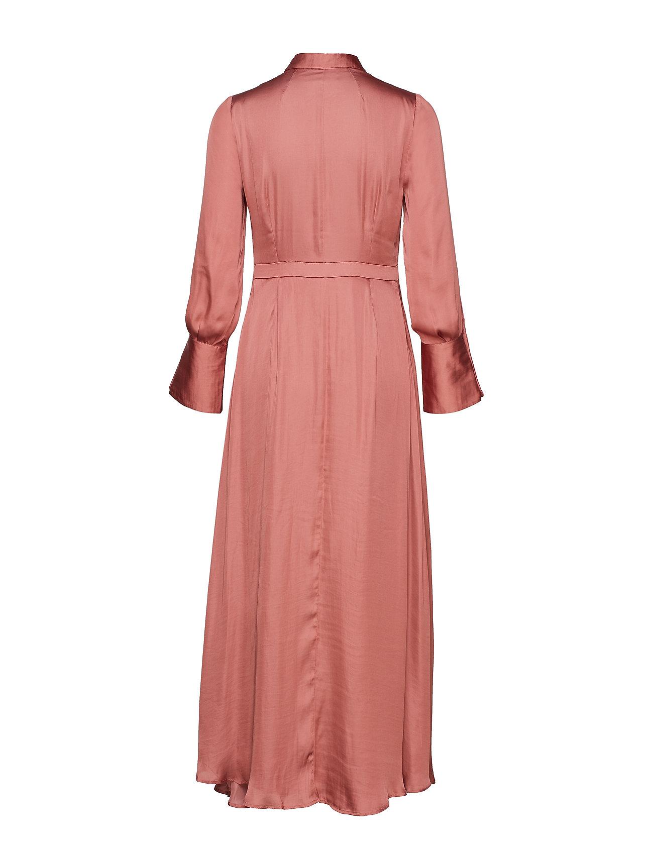 Dress Republic Maxi I RustBanana Savannah Neck Tieburnt W kTPXiOuZ