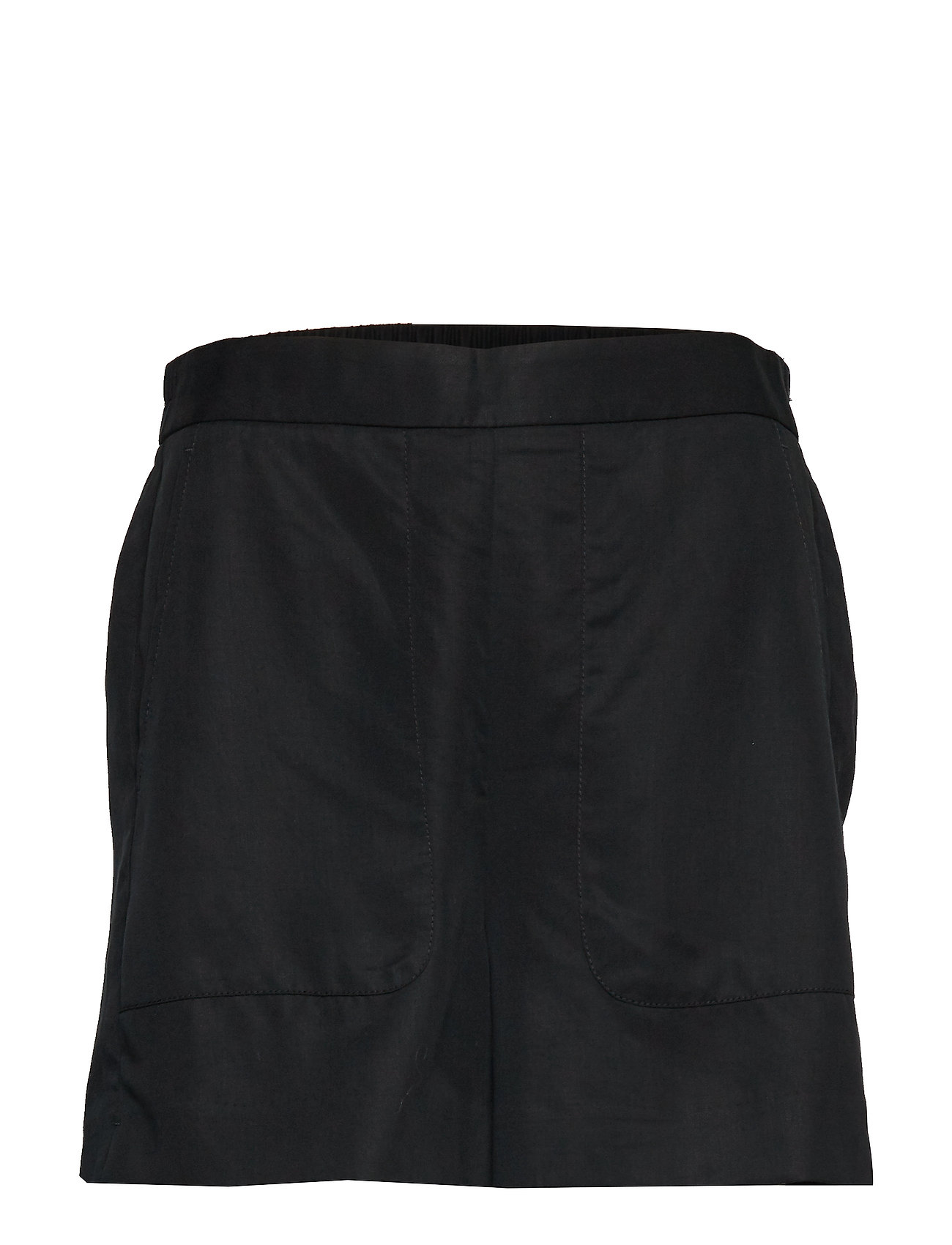 Banana Republic HR SOFT PULL ON SHORT TENCEL - BLACK