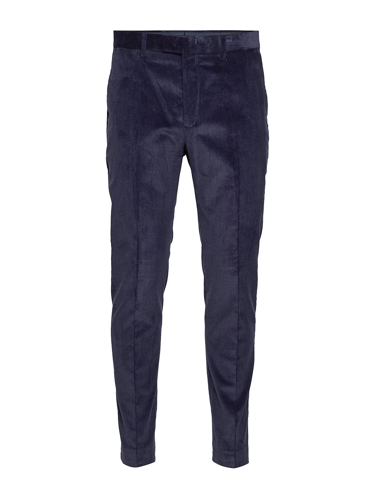 Banana Republic Slim Tapered Italian Corduroy Suit Pant - NAVY