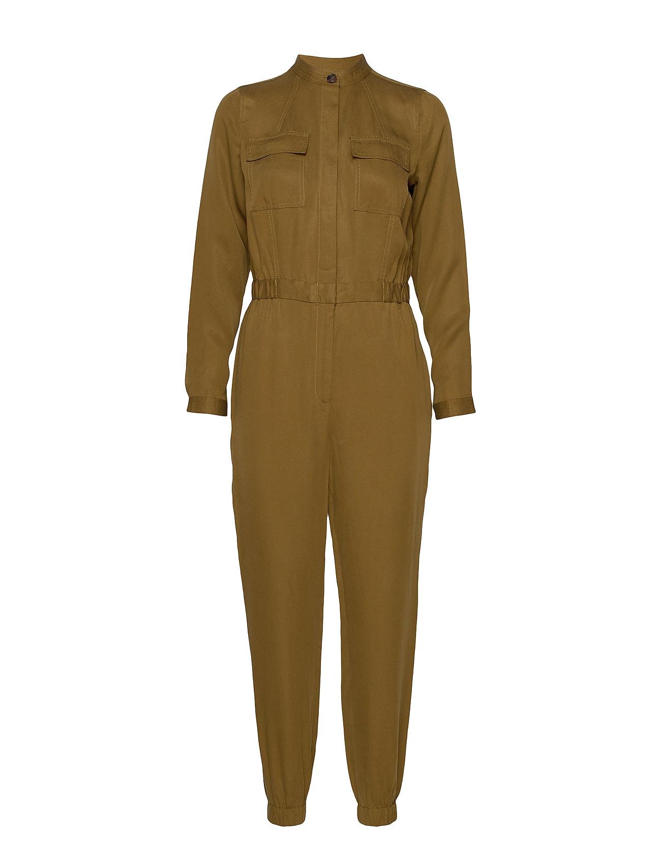 Banana Republic TENCEL™ Flight Jumpsuit - CINDERED OLIVE