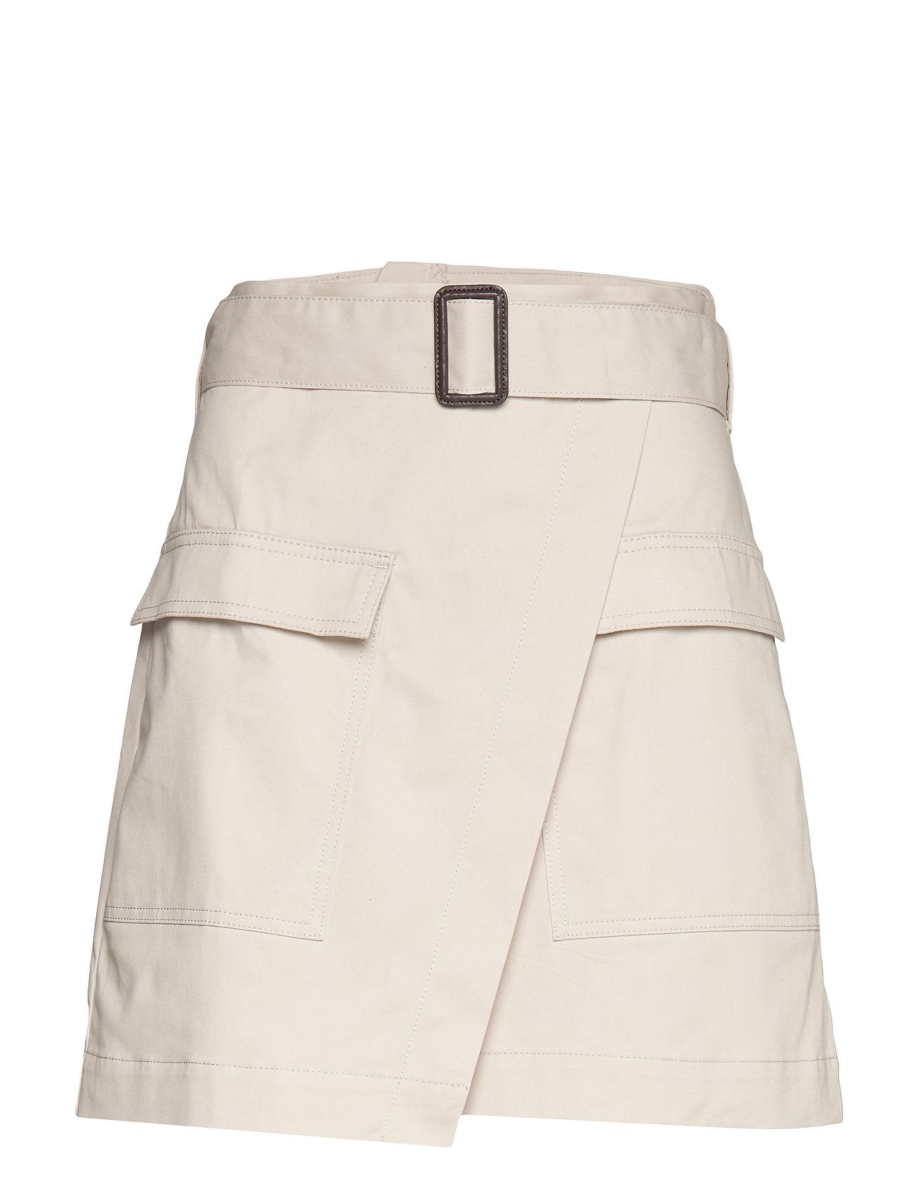 Banana Republic Utility Wrap Skirt - STONE