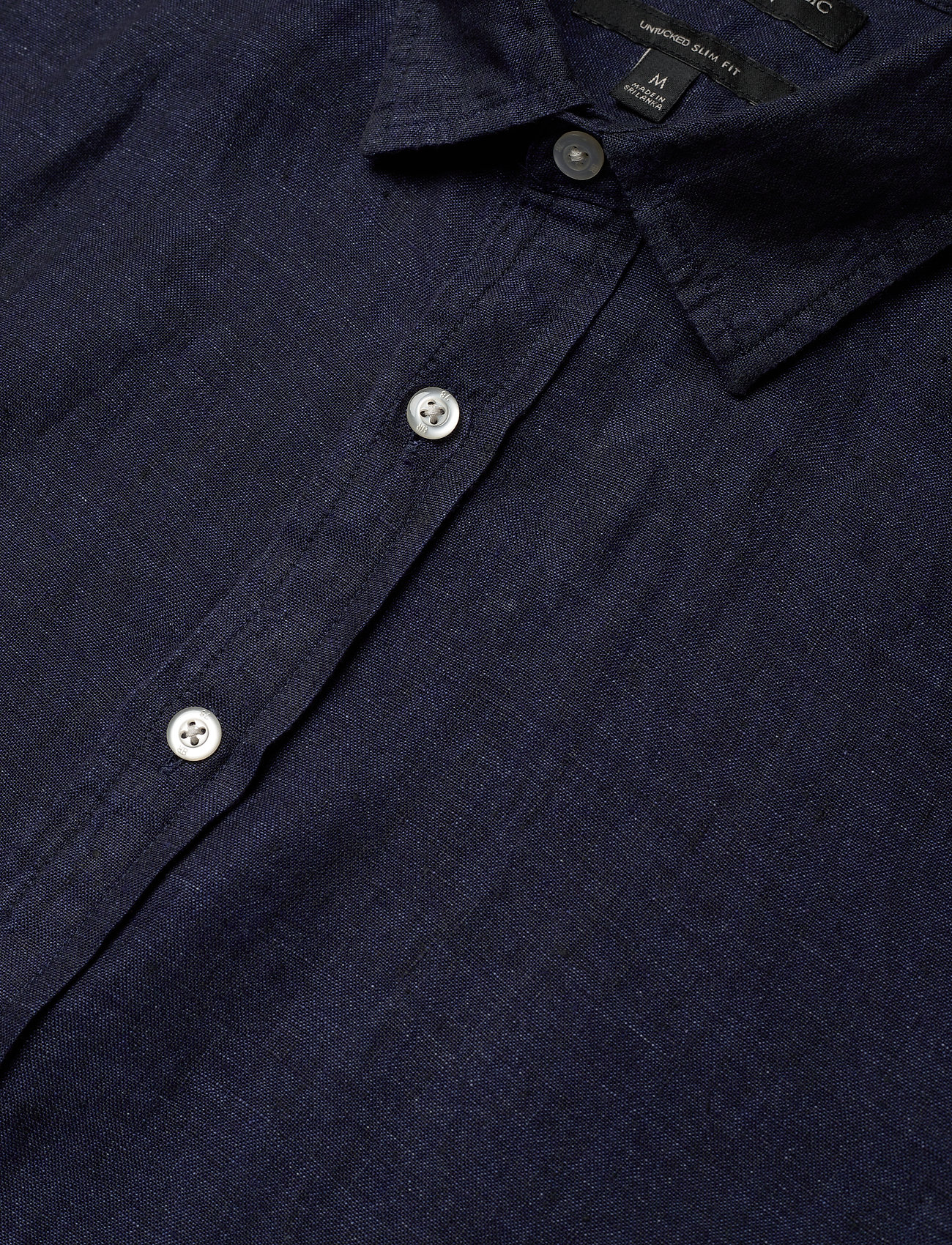 Untucked Slim-fit Linen Shirt (Pacific Blue) (44.50 €) - Banana Republic Ldi7y