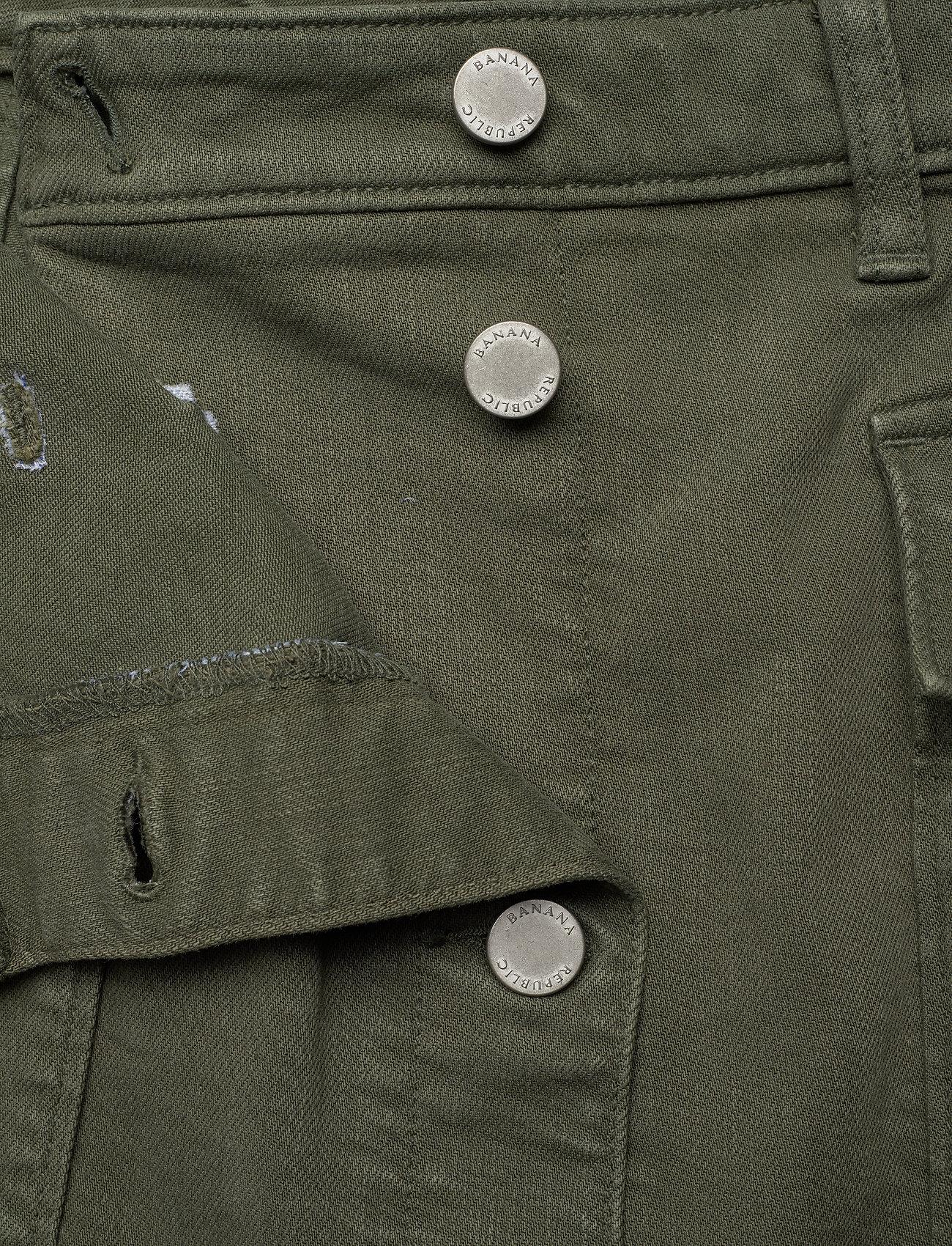 Denim Utility Midi Skirt (Dark Olive 629) (57.50 €) - Banana Republic hQ4jv