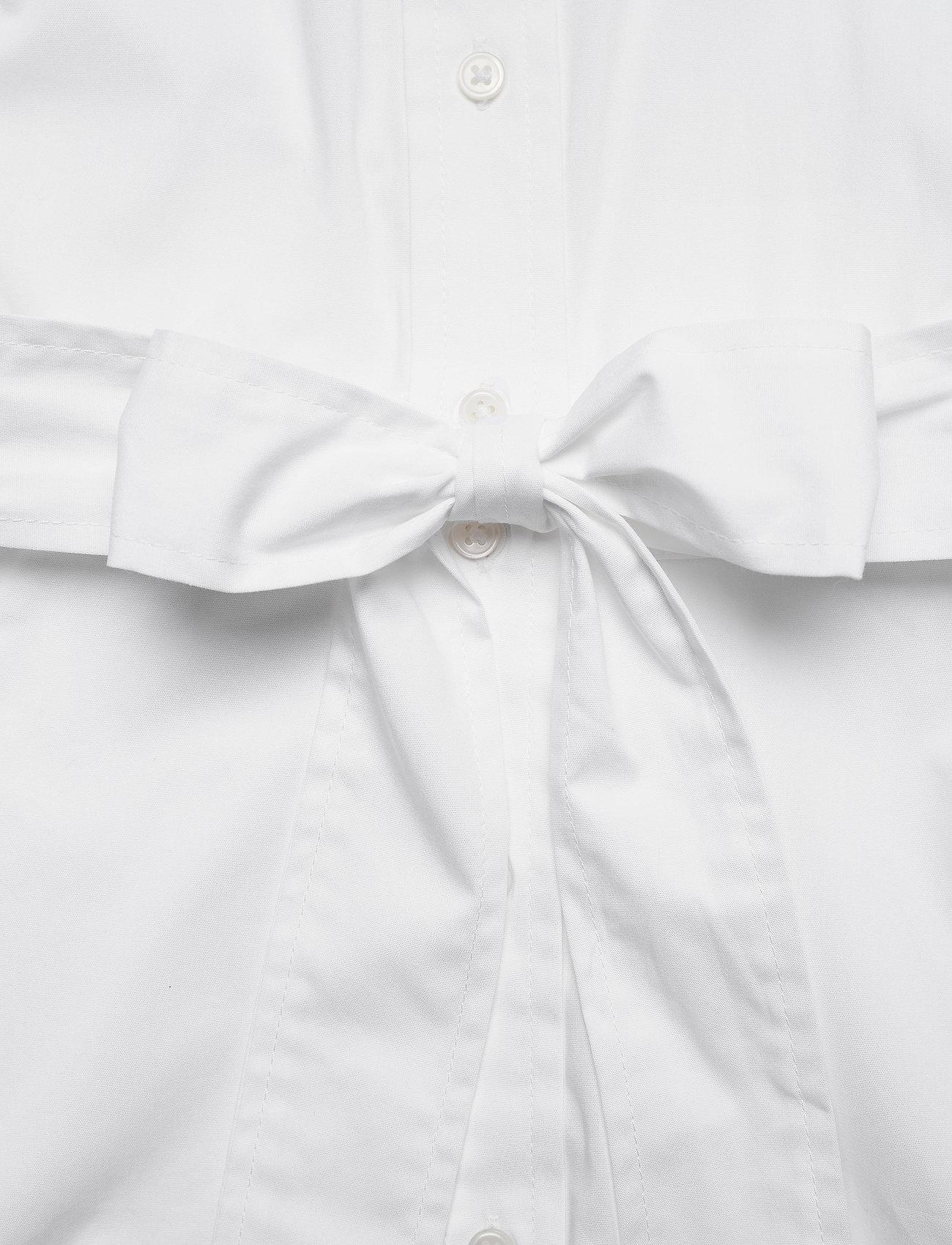 Banana Republic Poplin Shirt Dress - Sukienki WHITE - Kobiety Odzież.