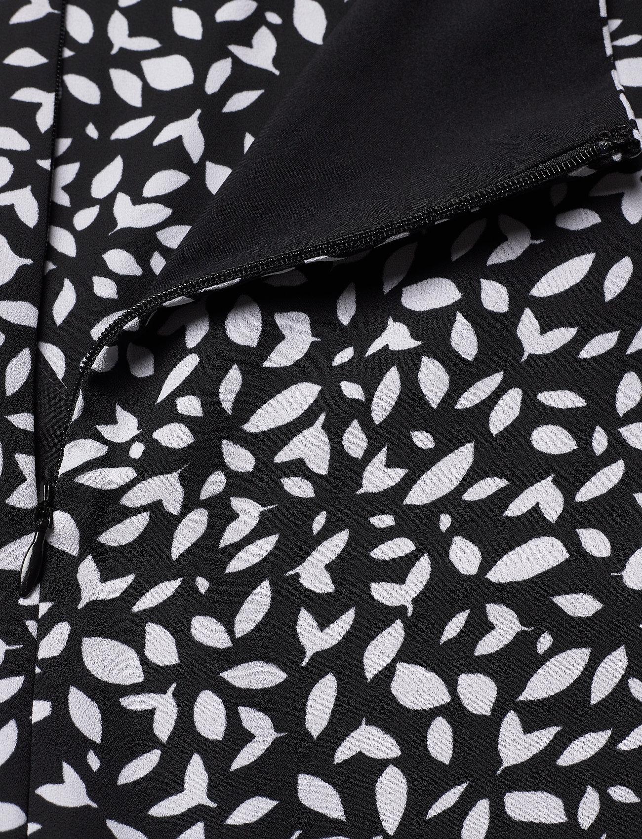 Banana Republic I RUFFLED MINI SWING DRESS - Sukienki BLACK DOT GLOBAL - Kobiety Odzież.