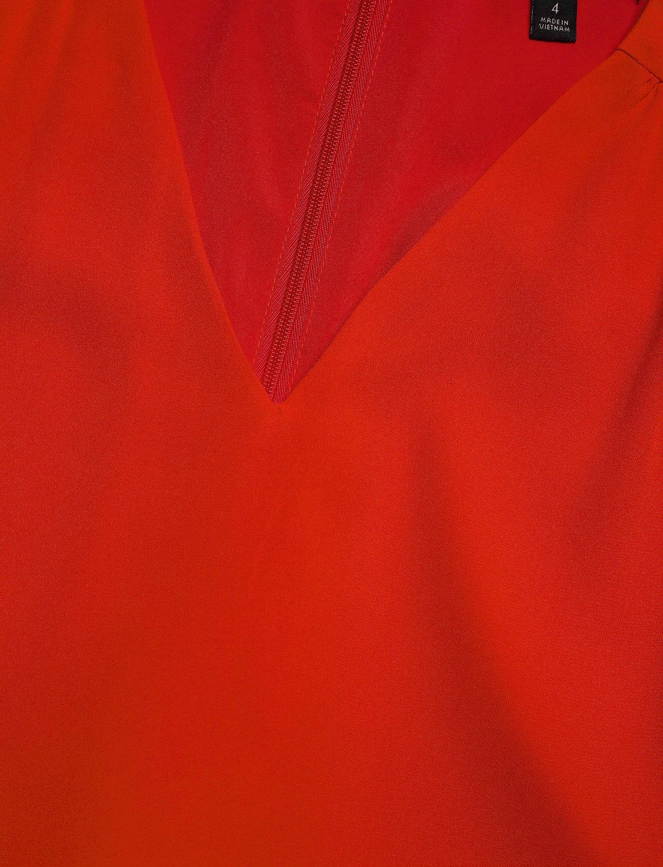 Banana Republic I RUFFLED MINI SWING DRESS - Sukienki HOT RED - Kobiety Odzież.
