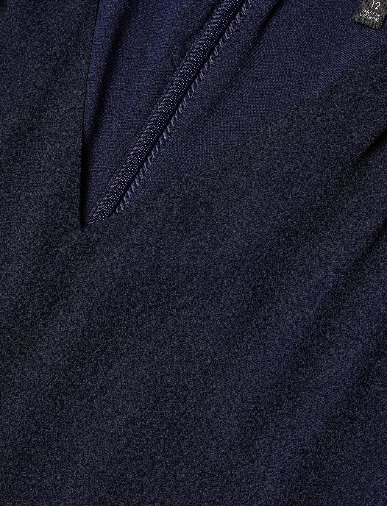 Banana Republic I RUFFLED MINI SWING DRESS - Sukienki PREPPY NAVY - Kobiety Odzież.