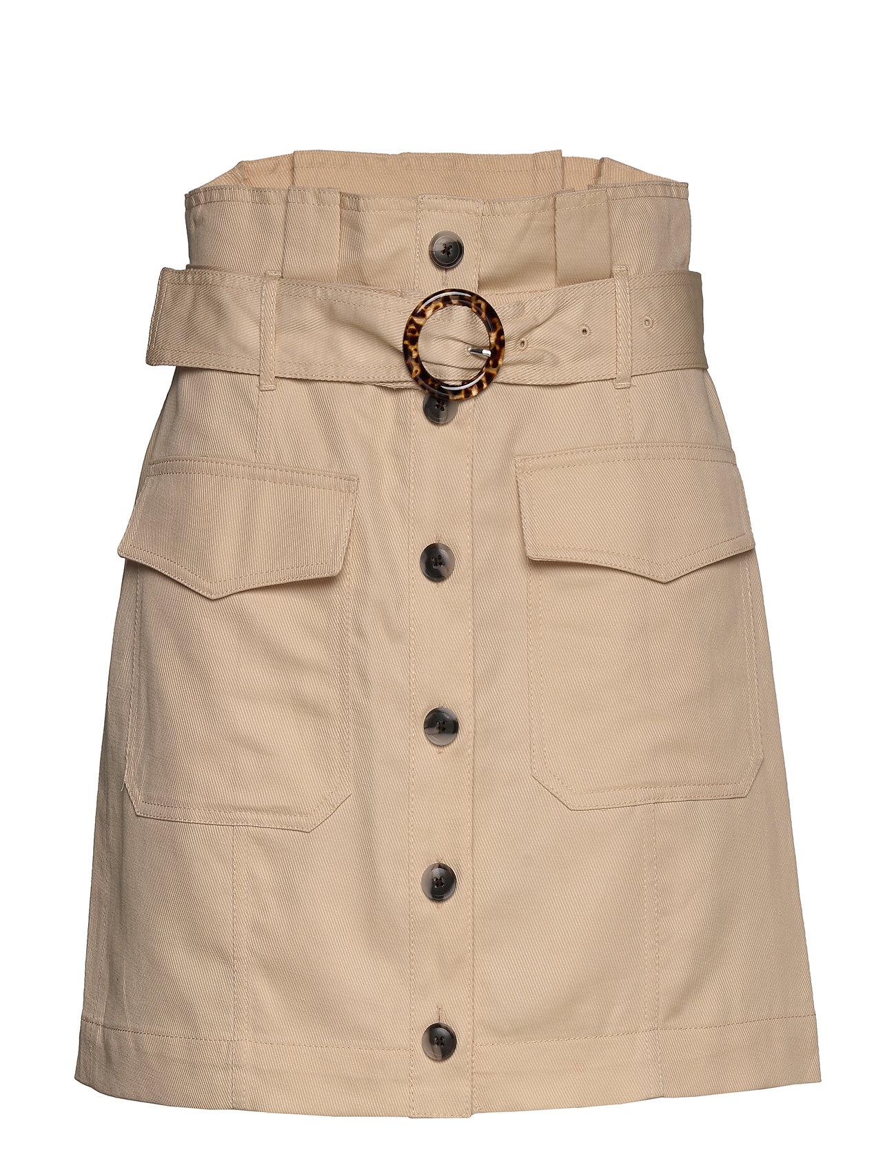 Banana Republic - Paperbag Utility Skirt - short skirts - ecru - 0