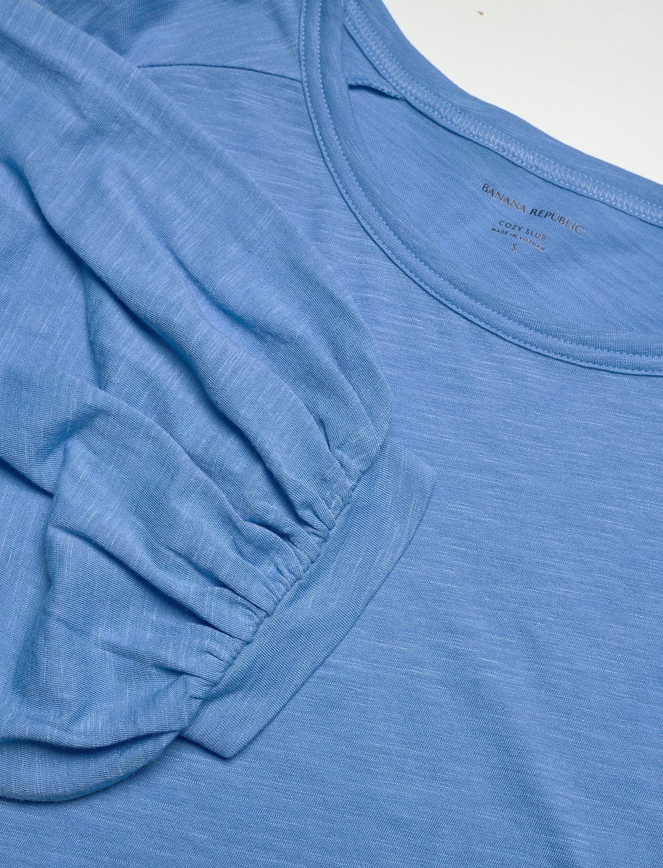 Balloon-sleeve Cropped Top   - Banana Republic -  Women's T-shirts & Tops Purchase
