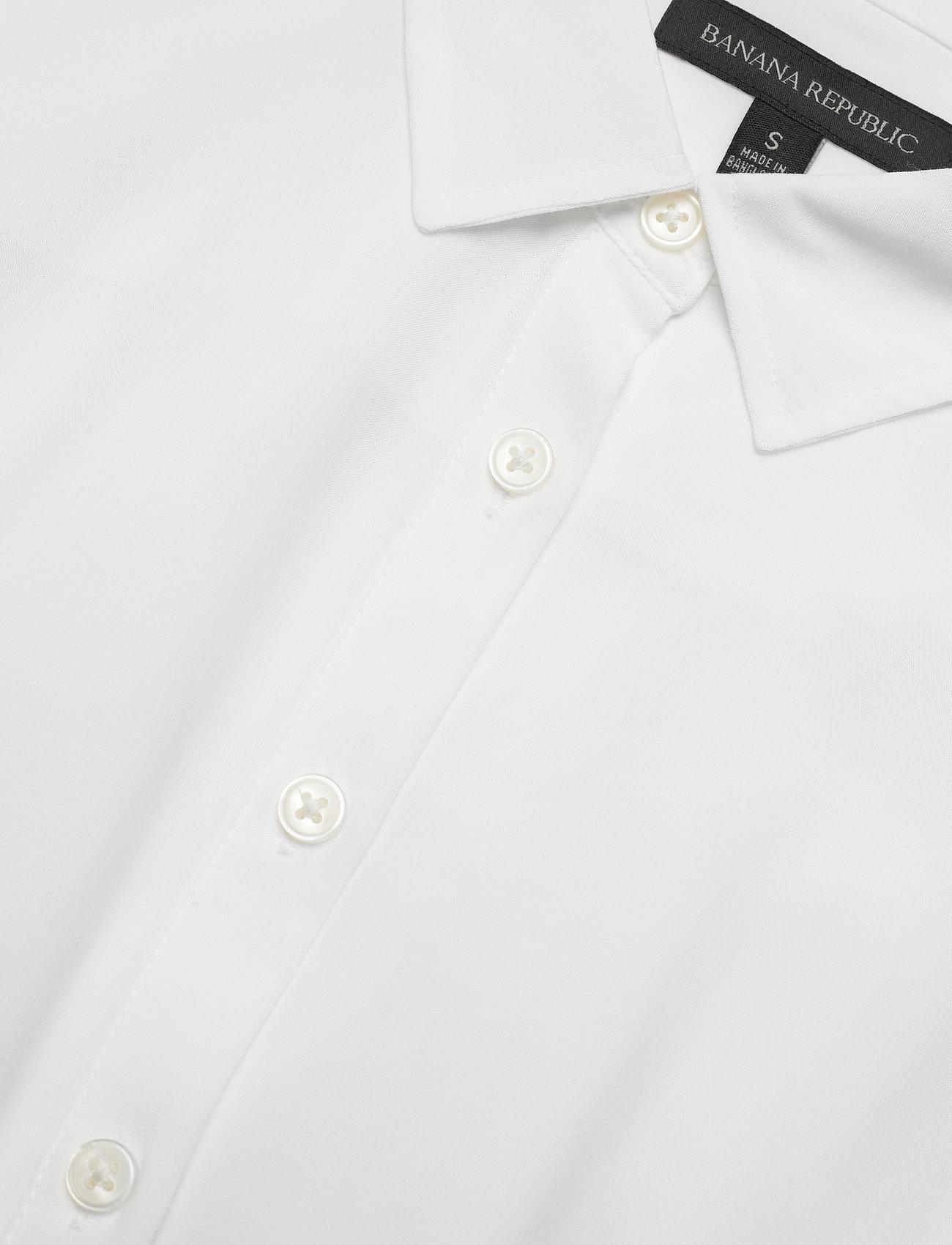 Banana Republic - LENZING™ ECOVERO™ Shirtdress - sommerkjoler - vwhite - 2