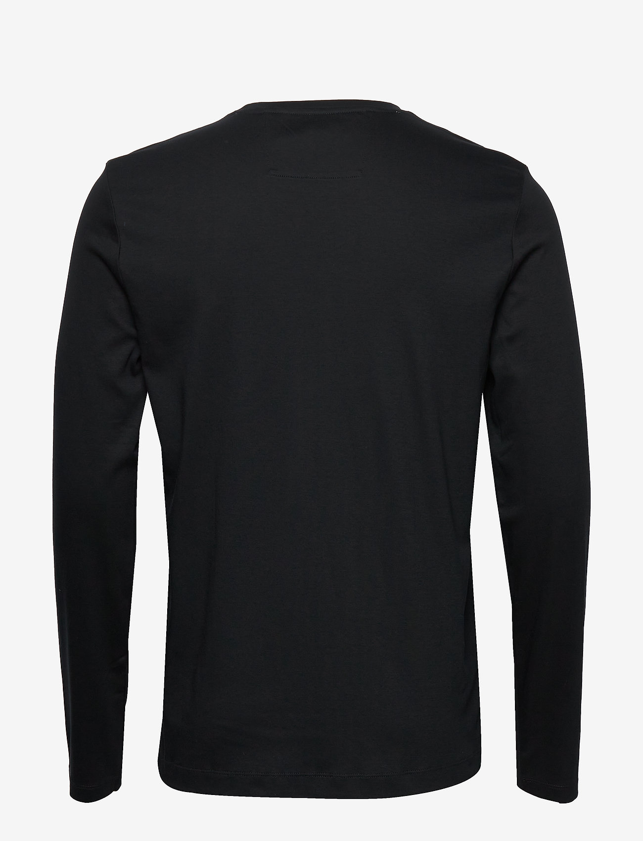 Banana Republic - Luxury-Touch Crew-Neck T-Shirt - basic t-shirts - black - 1