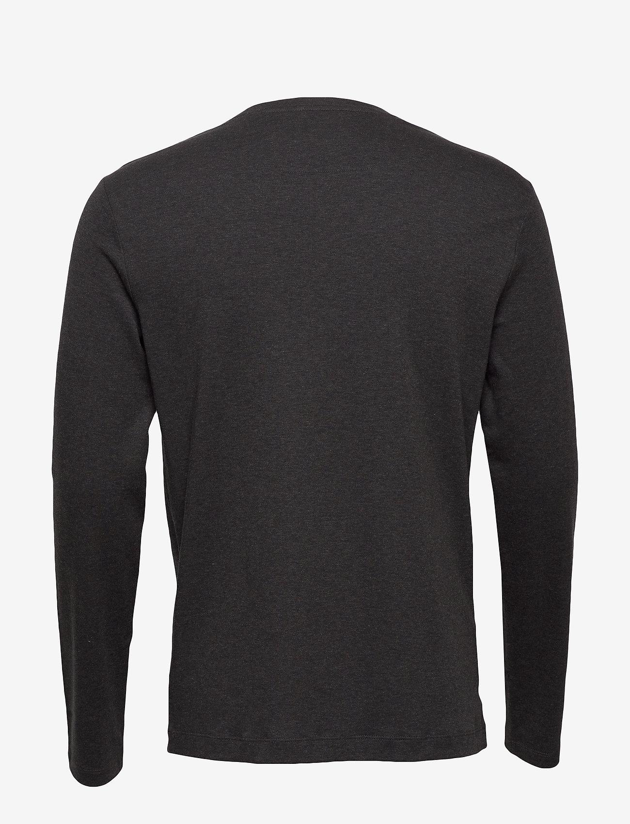 Banana Republic - Luxury-Touch Crew-Neck T-Shirt - basic t-shirts - dark charcoal - 1