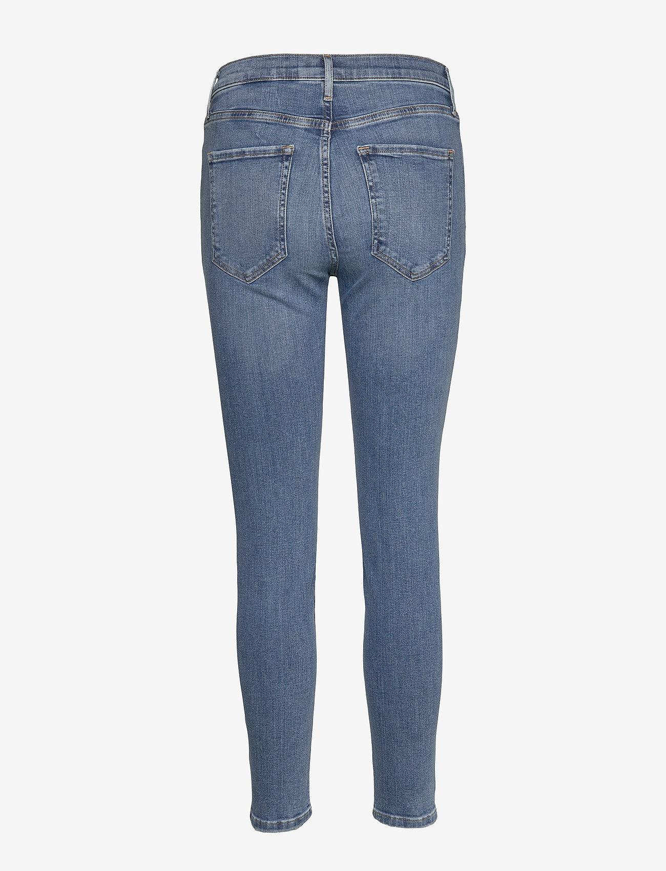 Banana Republic Mid-Rise Skinny Ankle Jean - Dżinsy LIGHT WASH - Kobiety Odzież.