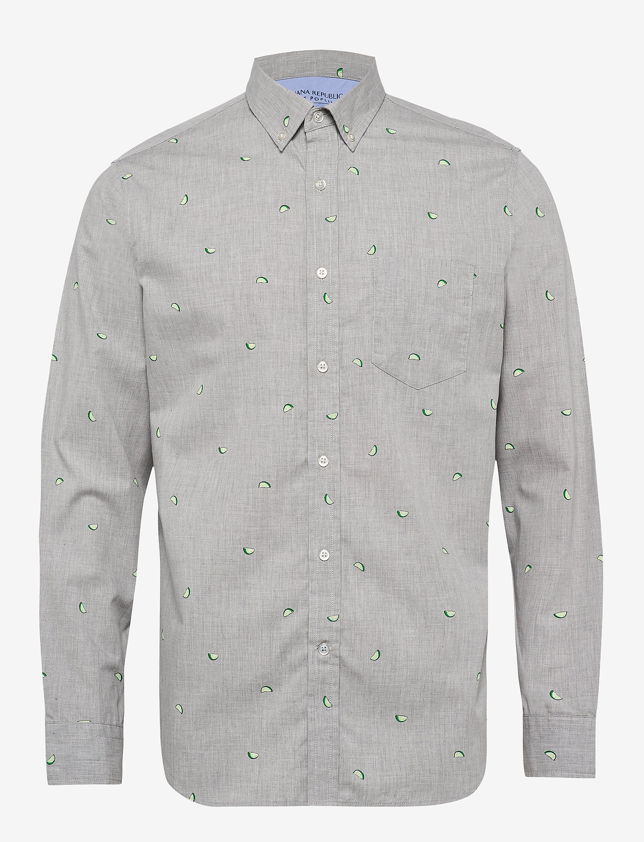Banana Republic - Standard-Fit Luxe Poplin Shirt - oxford shirts - fresh limeade - 0