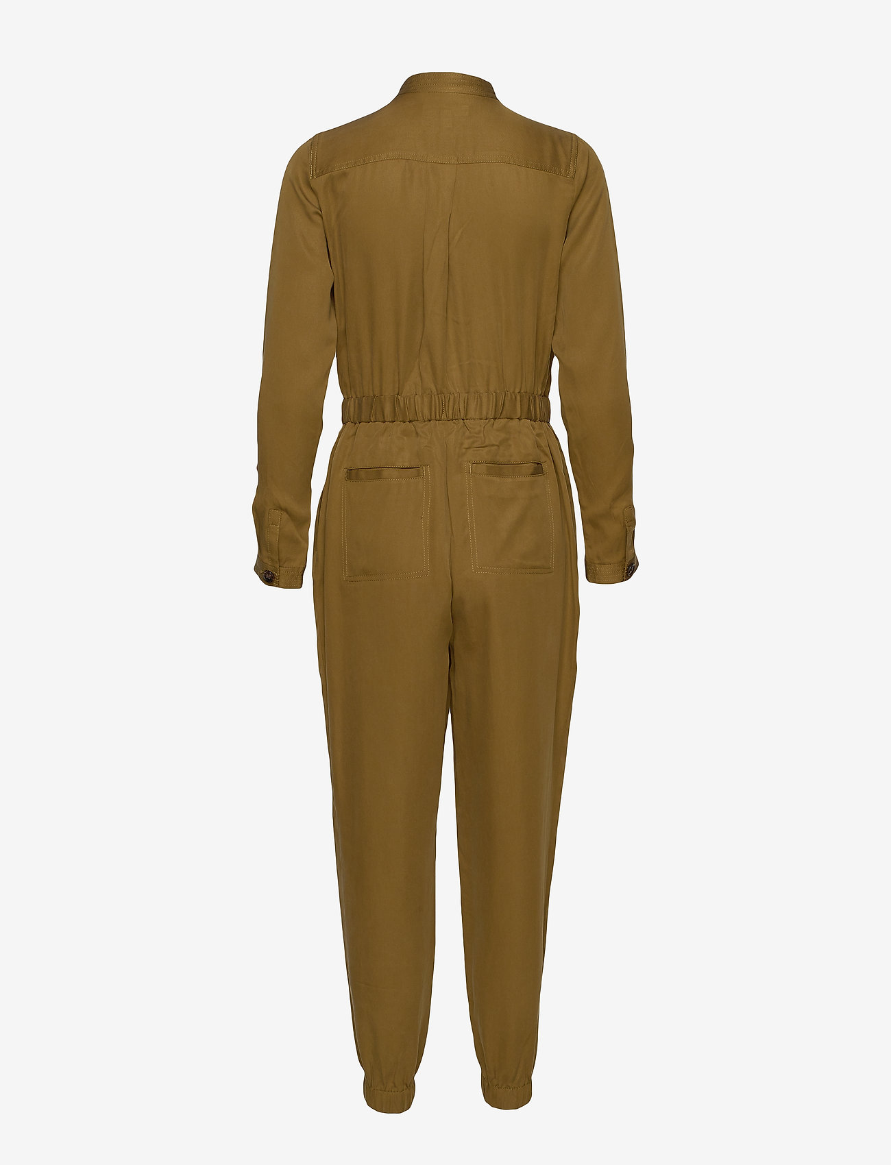 Banana Republic - TENCEL™ Flight Jumpsuit - jumpsuits - cindered olive - 1