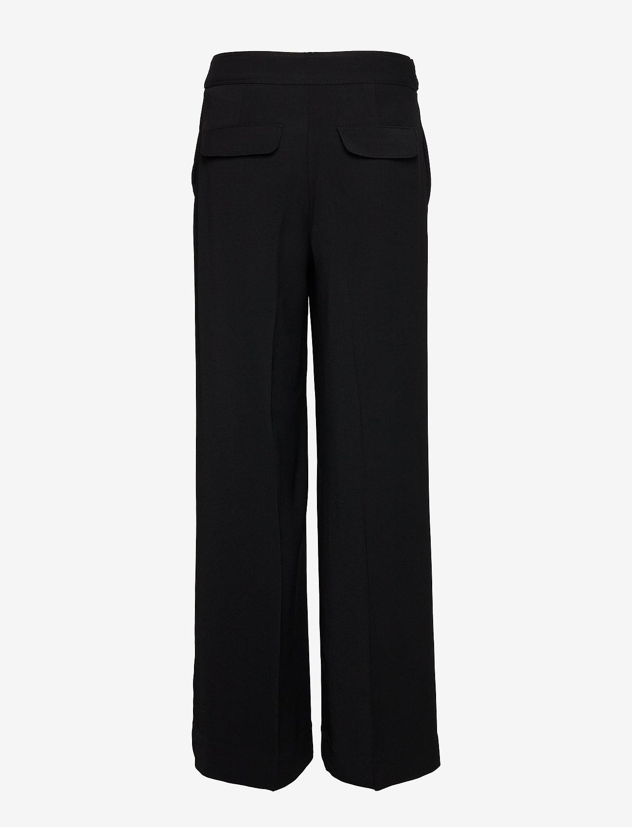 Banana Republic - High-Rise Wide-Leg Utility Pant - bukser med brede ben - black k-100 - 1