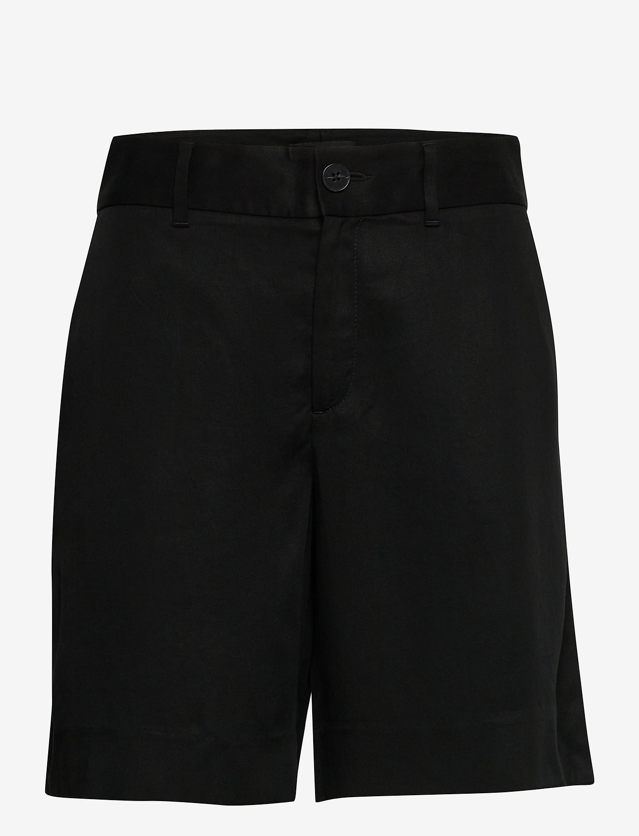 "Banana Republic - High-Rise 8"" TENCEL™ Short - bermudas - br black - 0"