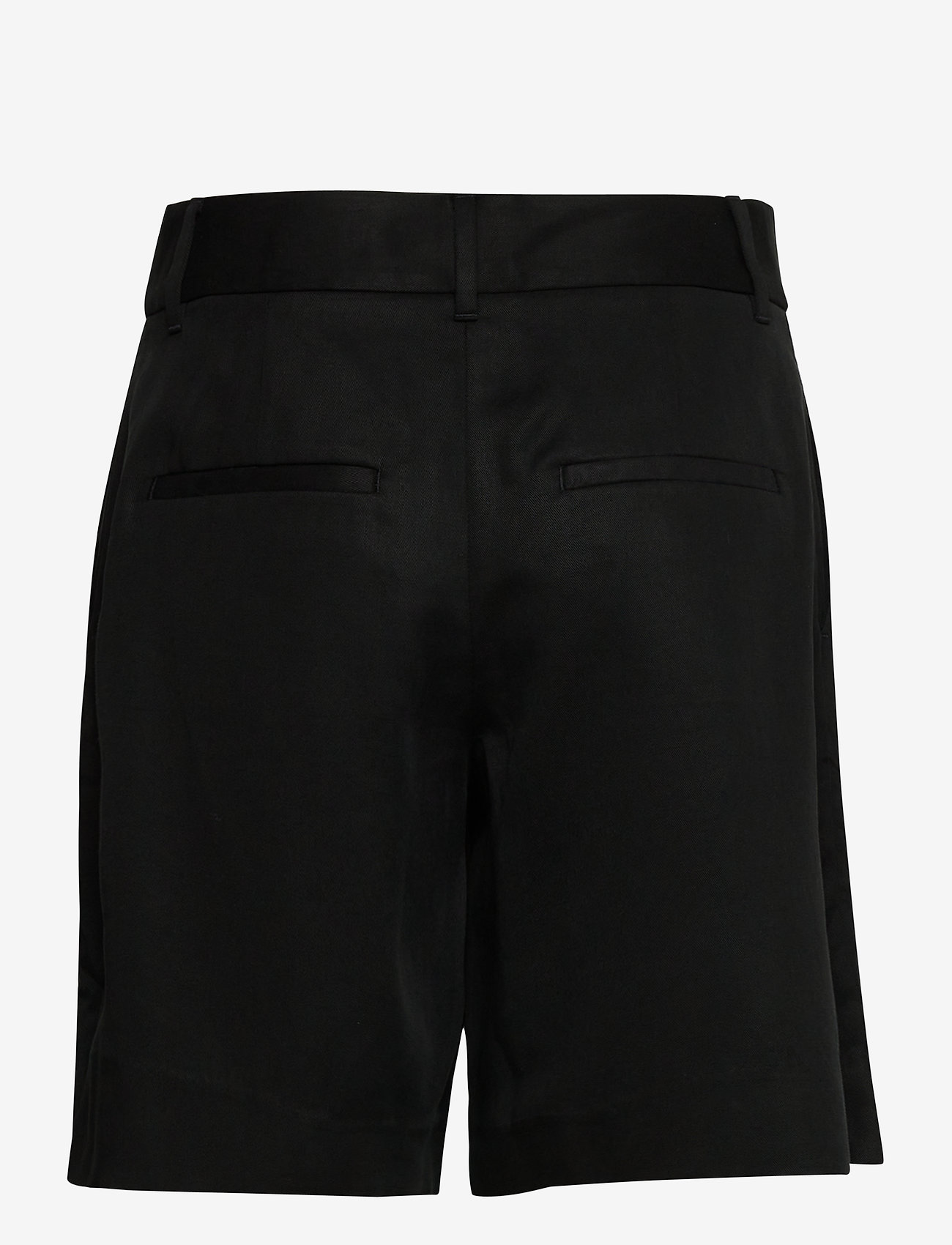 "Banana Republic - High-Rise 8"" TENCEL™ Short - bermudas - br black - 1"