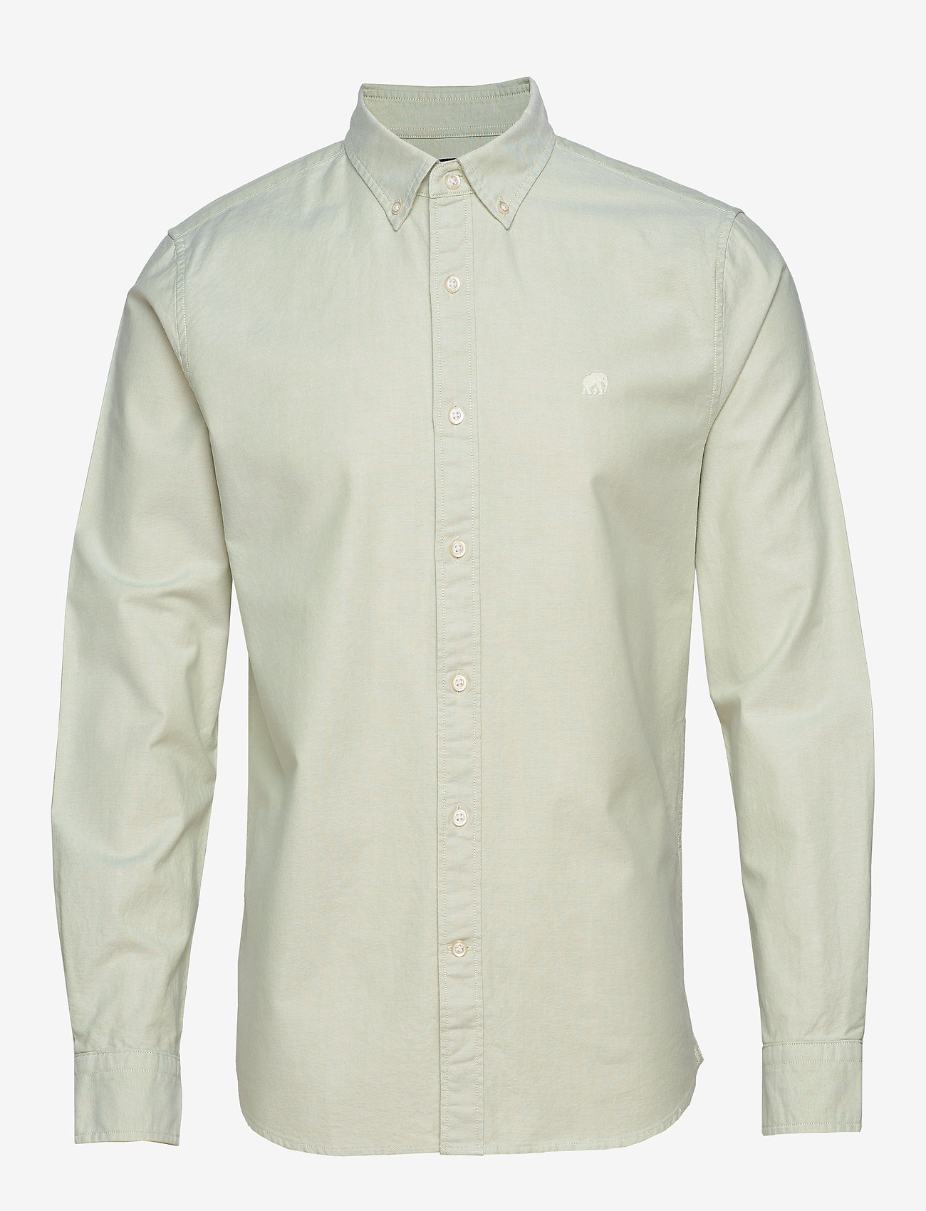 Banana Republic - I UT LOGO OXFORD SOLID - basic shirts - mint - 0